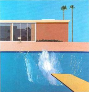 A bigger splash - David Hockney - 1967