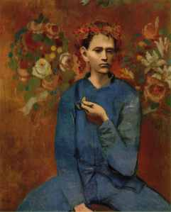Boy with pipe | Pablo Picasso | 1905