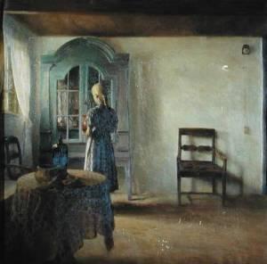 Interior | Peter Vilhelm Ilsted | 1896