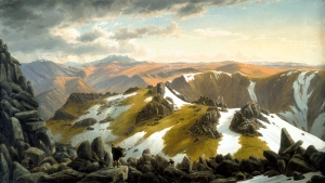 North-east View from the Northern Top of Mount Kosciusko | Eugene von Guérard | 1863