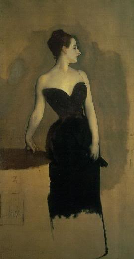 John Singer Sargent Madame X Strapless portrait of Madame X