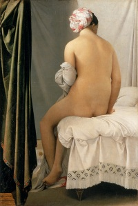 The bather of Valpinçon - Jean-Auguste-Dominique Ingres - 1808