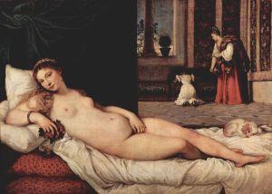 The Venus of Urbino | Tiziano Vecellio | 1538
