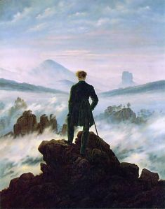 Wanderer above the sea of fog | Caspar David Friedrich | 1818