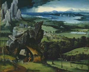 Landscape with St. Jerome | Joachim Patinir | 1524
