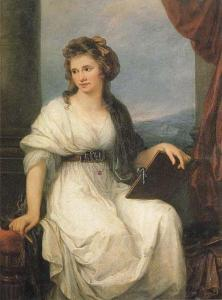 Self portrait | Angelika Kauffmann | 1787