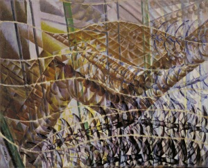 Swifts: Paths of movement + Dynamic sequences   Giacomo Balla   1913