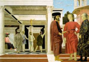 The flagellation of Christ | Piero della Francesca | 1469
