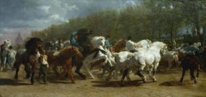 The horse fair | Rosa Bonheur | 1855