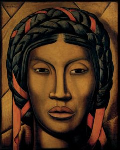 The indigenous woman from Tehuantepec | Alfredo Ramos Martínez | 1920