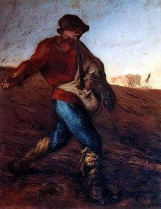 The Sower | Jean-François Millet | 1850
