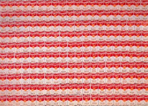 200 soup cans | Andy Warhol | 1962