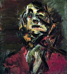 Head of J.Y.M. No. 1 | Frank Auerbach | 1981