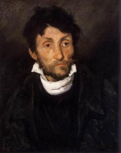 Portrait of a kleptomaniac | Théodore Géricault | 1822