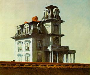 House by the railroad | Edward Hopper | 1925