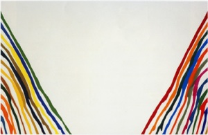 Beta lambda | Morris Louis | 1961