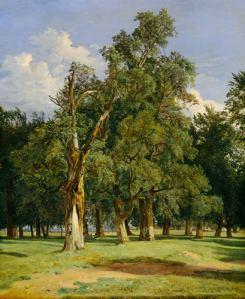 Old elms in Prater | Ferdinand Georg Waldmüller | 1831