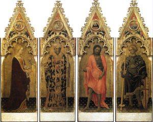 Quaratesi Polyptych   Gentile de Fabriano   1425