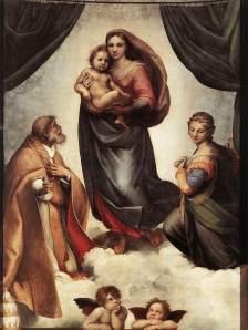 Sistine Madonna | Raphael | 1514