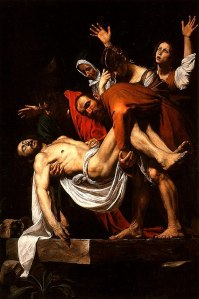 The entombment of Christ | Caravaggio | 1603