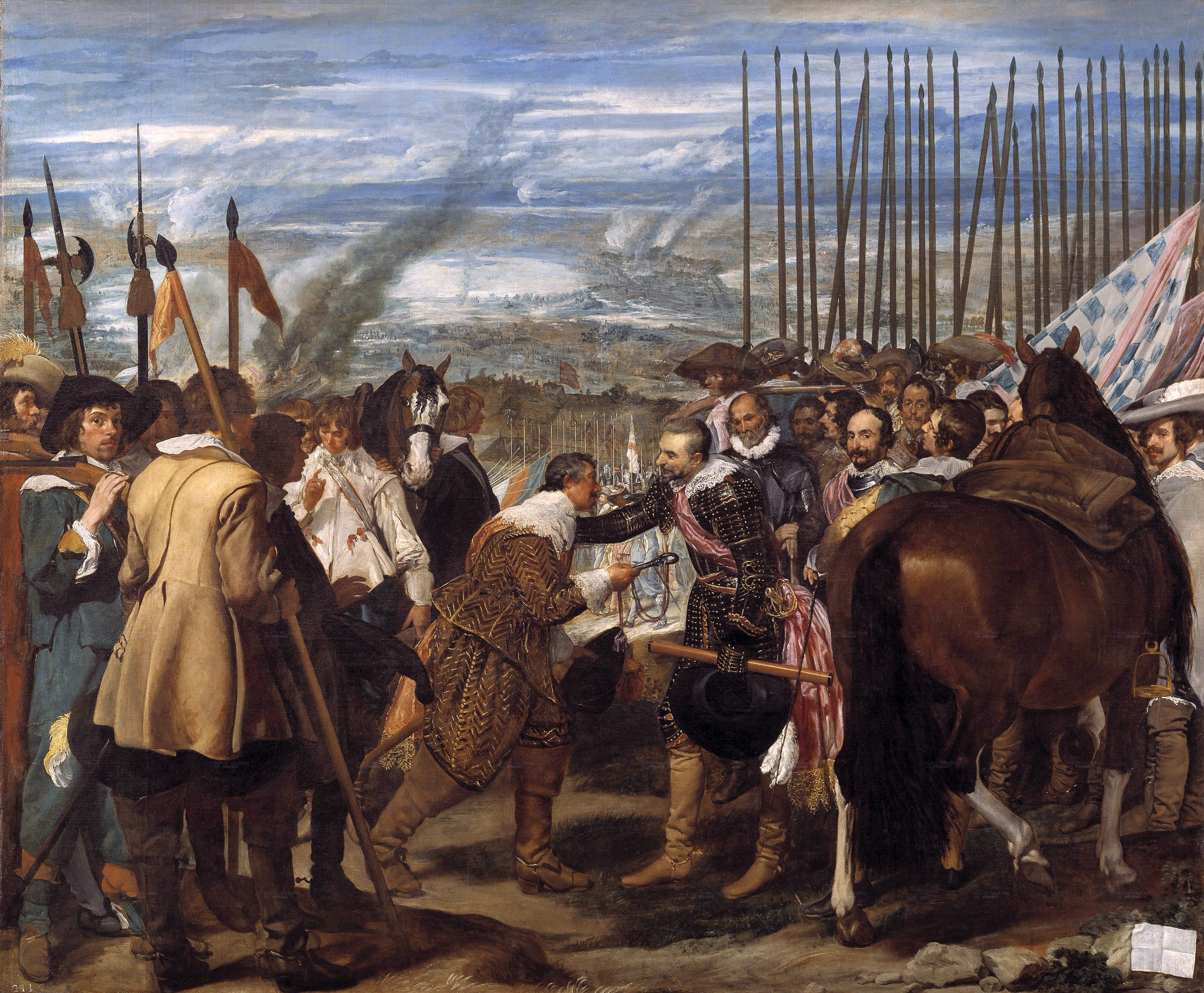 The surrender of Breda | Diego Velázquez | 1635