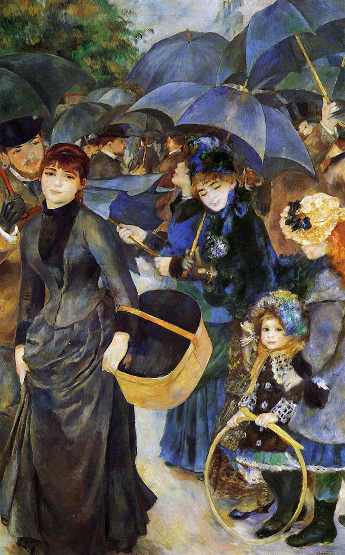 The umbrellas | Pierre-Auguste Renoir | 1886