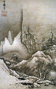Winter landscape | Sesshu Toyo | 1486