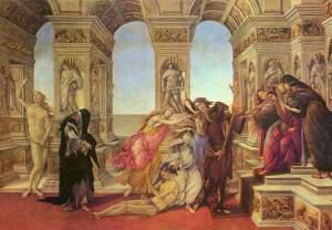 Calumny of Apelles | Sandro Botticelli | 1494