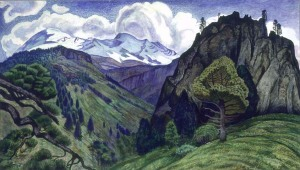 Landscape with the Iztaccíhuatl | Dr. Atl | 1932