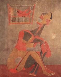 The singing bird | Rufino Tamayo | 1943