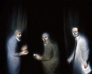 Three oncologists | Ken Currie | 2002