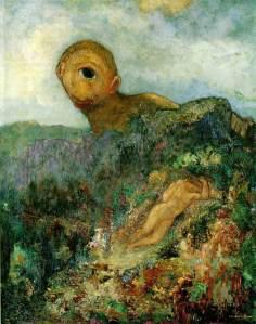 Cyclops | Odilon Redon | 1914