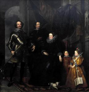 Portrait of the Lomellini family | Sir Anthony van Dyck | 1623