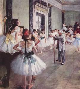The dance lesson | Edgar Degas | 1876