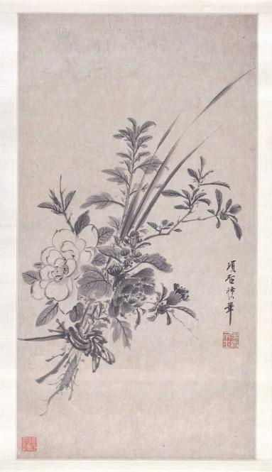 Bunch of flowers | Xiang Shengmo | (1630)