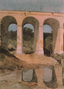 Chirk aqueduct | John Sell Cotman | 1807