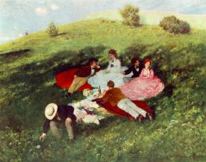 Picnic in May | Pál Szinyei Merse | 1873