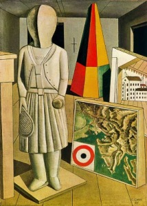 The metaphysical muse | Carlo Carrà | 1917