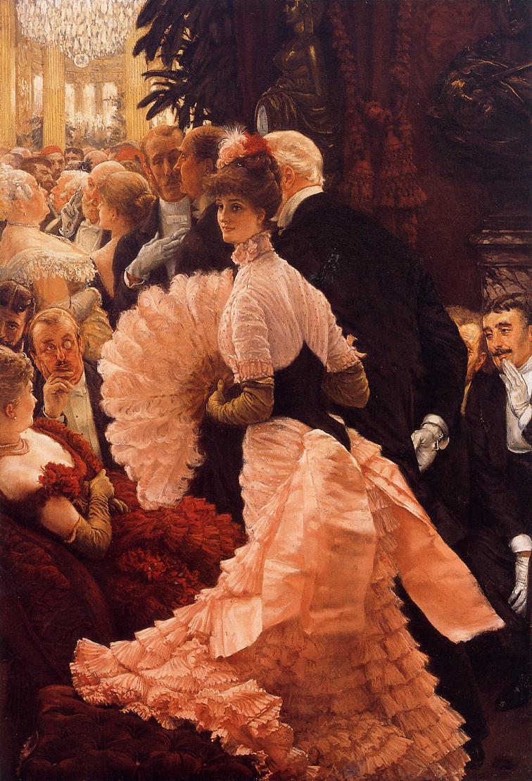 James Tissot  - Page 3 The-reception-james-tissot-18851