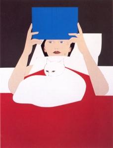 Woman reading | Will Barnet | 1970