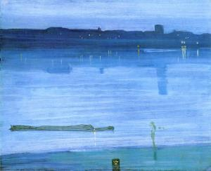 Nocturne Blue and Silver - Chelsea | James McNeill Whistler | 1871
