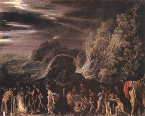 St. Paul on Malta | Adam Elsheimer | 1600