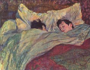 The bed | Henri de Toulouse-Lautrec | 1893