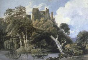 Berry Pomeroy Castle, Devon | Thomas Girtin | 1797