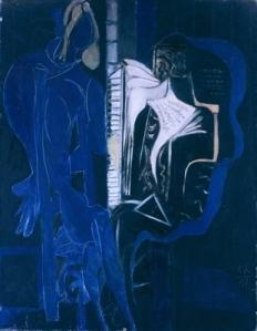 Ebony and blue | Ceri Richards | 1951