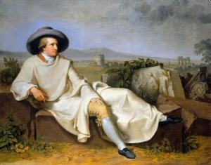 Goethe in the Campagna | Johann Tischbein | 1787