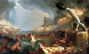 The course of empire: Destruction | Thomas Cole | 1836