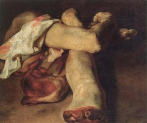 Anatomical pieces | Théodore Géricault | 1818