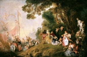 Pilgrimage to Cythera | Jean-Antoine Watteau | 1721