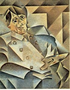 Portrait of Pablo Picasso | Juan Gris | 1912